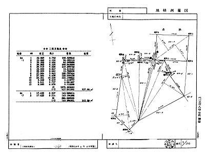 地積測量図