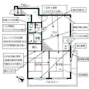 リフォーム概略図